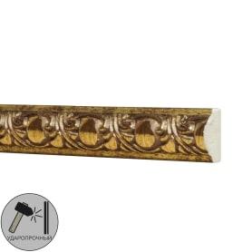 Молдинг настенный полистирол Decomaster 130C-58 золотой 0.8х1.8х200 см