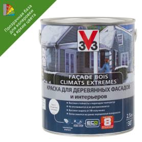 Краска для колеровки для деревянных фасадов V33 2.5 л цвет прозрачный