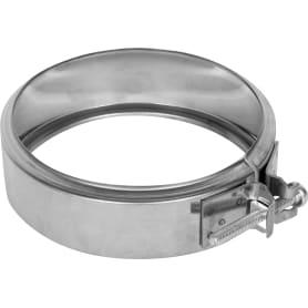Хомут соединительный 115х0.5 мм нержавеющая сталь