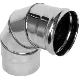 Отвод 90° 0.5x120 мм, нержавеющая сталь