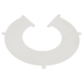 Фланец универсальный 115-120 мм 0.5 м нержавеющая сталь