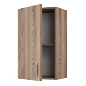 Шкаф навесной «Дуб шато Аква» 67.6х40 см, ЛДСП, цвет дуб
