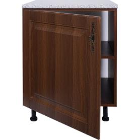 Шкаф напольный «Орех Р» 85х60 см, МДФ, цвет орех
