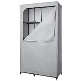 Шкаф-чехол 180х100х45 см, металл, цвет серый