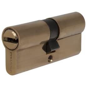 Цилиндр ключ/ключ 35х35 золото, 70 C ET PB