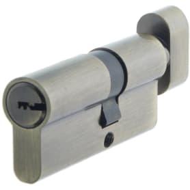 Цилиндр ключ/вертушка 30х40 бронза,TT-CANB3040AB