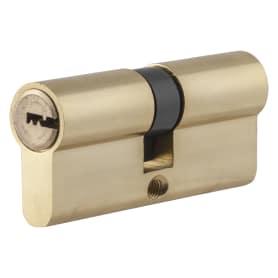 Цилиндр Standers ключ/ключ 35х35 золото, TT-CAB804