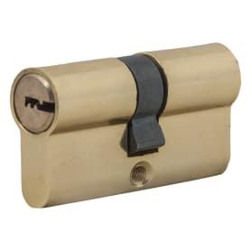 Цилиндр Standers ключ/ключ 30х30 золото, TT-CAB801