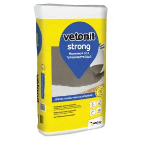 Наливной пол Weber Vetonit Strong 20 кг