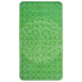 Коврик для ванны антискользящий Лужайка, 38х68 см цвет в ассортименте