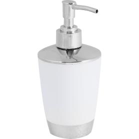Дозатор для жидкого мыла настольный «Альма» пластик цвет белый