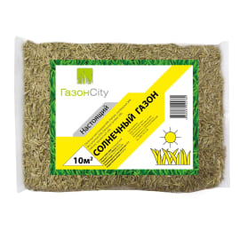 Семена газона ГазонCity Настоящий солнечный 0.3 кг