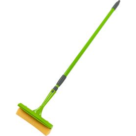 Стеклоочиститель с телескопической ручкой поролон