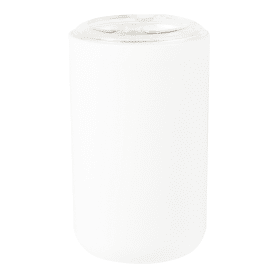 Стакан для зубных щёток настольный Vidage «Parma» пластиковый цвет белый