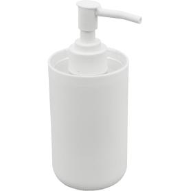 Дозатор для жидкого мыла настольный Vidage «Parma» пластик цвет белый