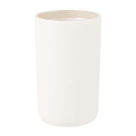 Стакан для зубных щёток настольный Vidage «Parma» пластик цвет бежевый