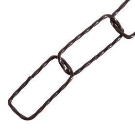 Цепь декоративная Standers 2 мм 4 м цвет медь