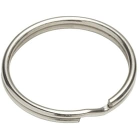 Кольцо для ключей Standers, 30 мм, никель, 3 шт.