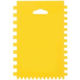 Шпатель для плиточного клея, пластик