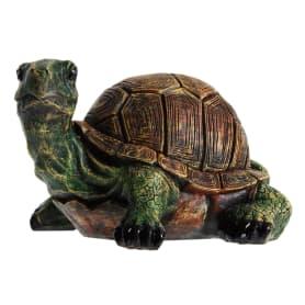 Фигура садовая «Черепаха с хвостом» высота 18 см