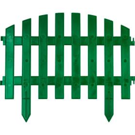 Штакетник «Волна» 3 м цвет зелёный