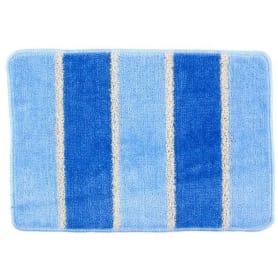 Коврик для ванной комнаты «Sera» цвет голубой