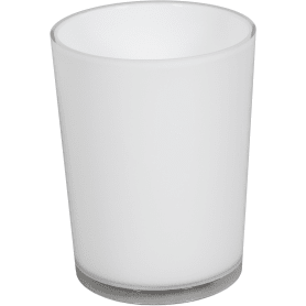 Стакан для зубных щёток настольный «Joli» пластик цвет белый