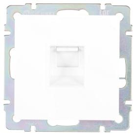 Розетка компьютерная Werkel Ethernet RJ-45 цвет белый