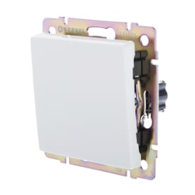 Выключатель Werkel, 1 клавиша, цвет белый