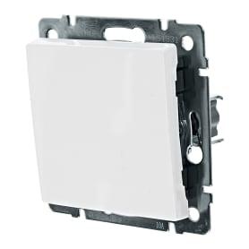 Выключатель проходной Werkel, 1 клавиша, цвет белый
