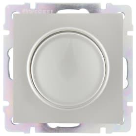Диммер встраиваемый Werkel 600 Вт, цвет серебряный