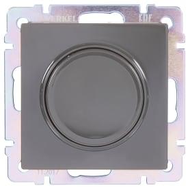 Диммер встраиваемый Werkel WL01-DM600 600 Вт цвет серый/коричневый