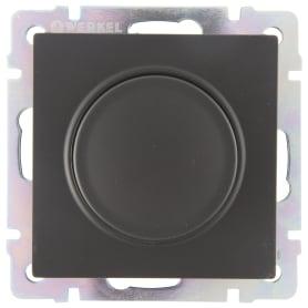Диммер встраиваемый Werkel 600 Вт, цвет черный