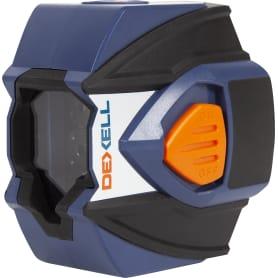 Уровень лазерный Dexell NLC03 на рейке, дальность до 20 м