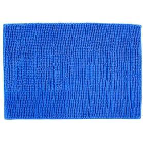Коврик для ванной комнаты «Merci» 45х70 см цвет синий