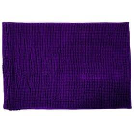 Коврик для ванной комнаты «Merci» 45х70 см цвет фиолетовый