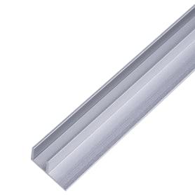Планка для стеновой панели угловая 60х1.7х0.4 см, алюминий