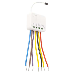 Реле для двухклавишного выключателя Rubetek evo, 869 МГц, IP20
