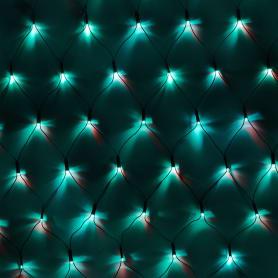 Электрогирлянда, 200 LED ламп, свет красный/зеленый