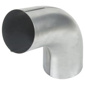 Отвод на 70° для трубы оцинкованный