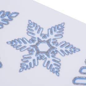 Наклейки 3D «Снежинки-2»