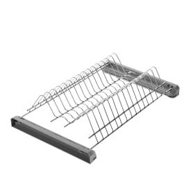 Сушилка для посуды с поддоном для верхнего шкафа 450 мм, металл