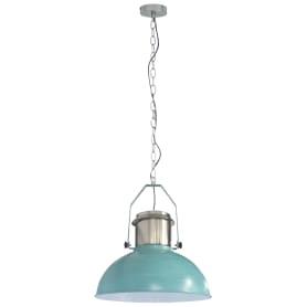 Подвесной светильник Inspire Ted 1xE27x60 Вт, 38 см, металл синий