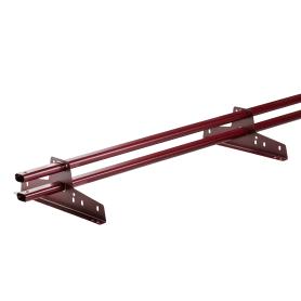 Снегозадержатель трубчатый цвет красный