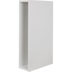 Каркас навесной 15x70x35 см, ЛДСП, цвет белый