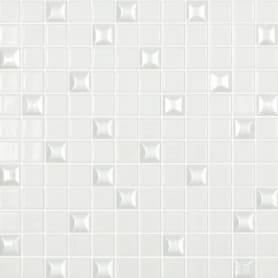 Мозаика Vidrepur Edna 31.7х31.7 см цвет белый