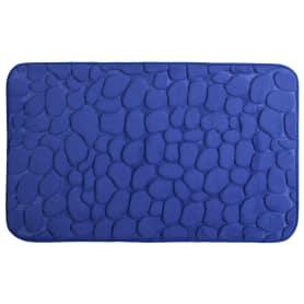 Коврик для ванной комнаты «Luxury» 45х75 см цвет синий