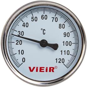 """Термометр для воды с гильзой, 120 градусов, 1/2"""""""