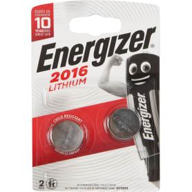 Батарейка литиевая Energizer CR 2016 FSB2, 2 шт.