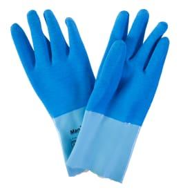 Перчатки для укладки плитки из латекса с хб-подкладкой